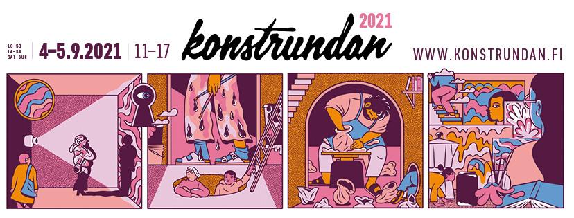 Konstrundan, Paula Pitkänen, Kaapelitehdas, Helsinki