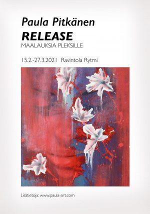 Release-näyttely Ravintola Rytmi